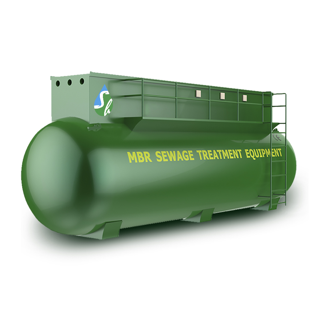High performance MBR wastewater  Treatment recycling equipment supplier in china