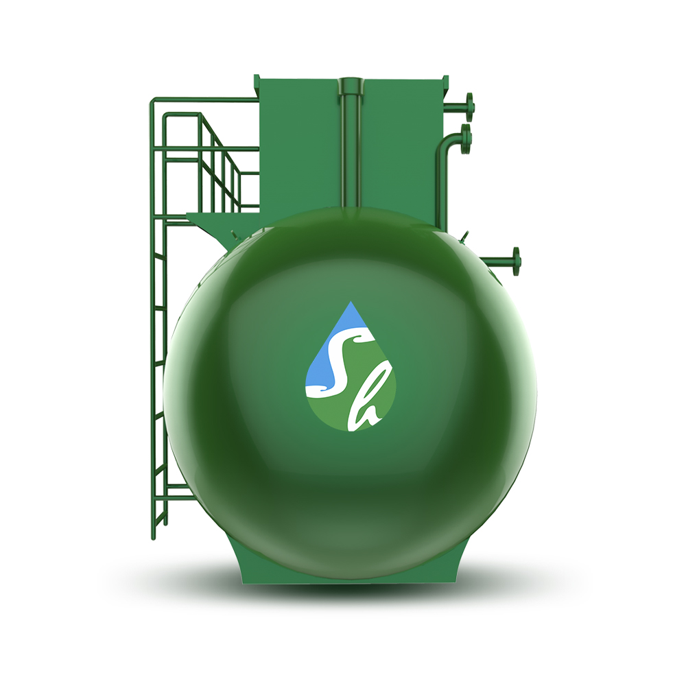 High efficiency integrated MBR domestic wastewater equipment for Sewage treatment plant