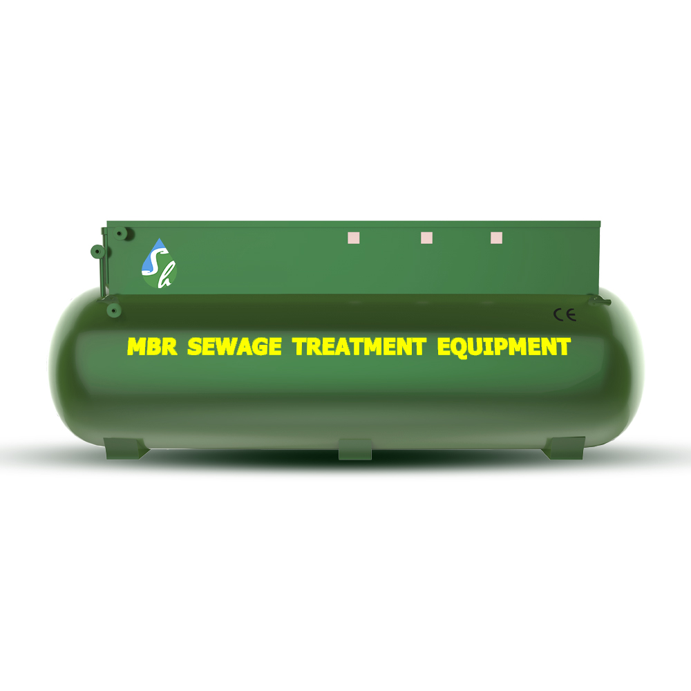 Easy operation integrated MBR wastewater sewage for hospital