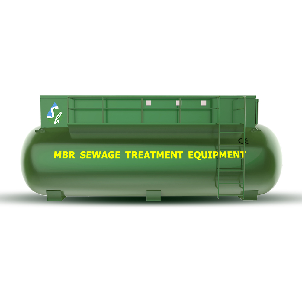 High standard MBR membrane sewage treatment for sewer Hospital wastewater