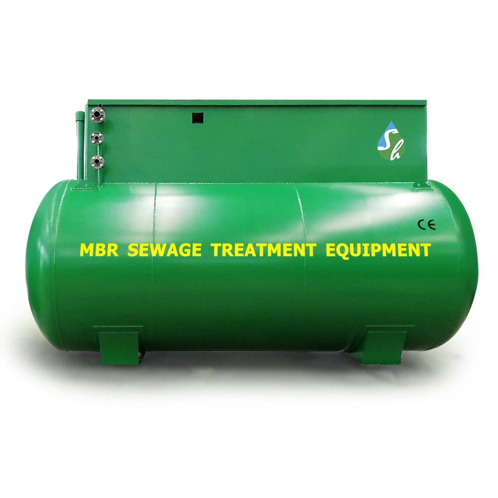 Wastewater Treatment Plant Mbr Membrane Bioreactor for Domestic Sewage Treatment