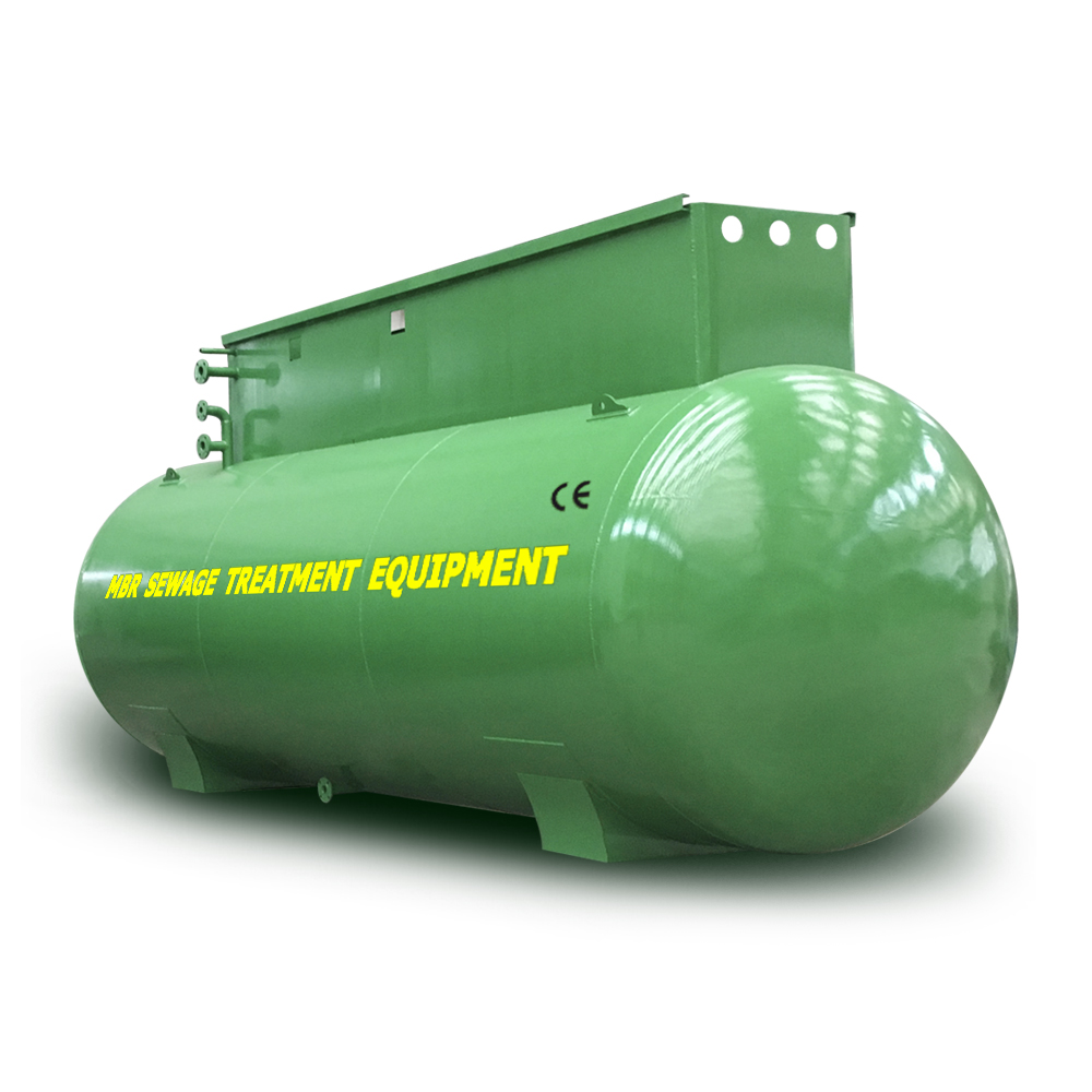 Packaged Portable MBR sewage equipment  for Industrial Sewage Treatment