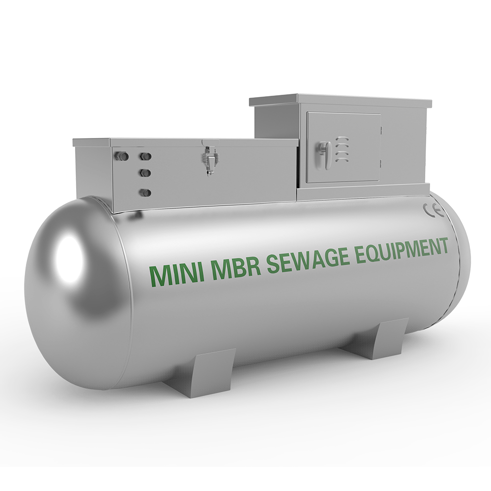 Hot Sale compact MBR wastewater equipment for Sewage treatment plant