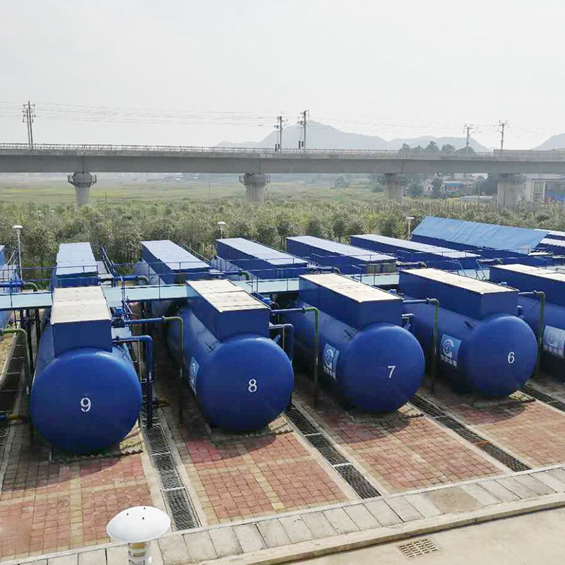 MBR Technology Wastewater Treatment Plant for Food Industry Beverage Factory