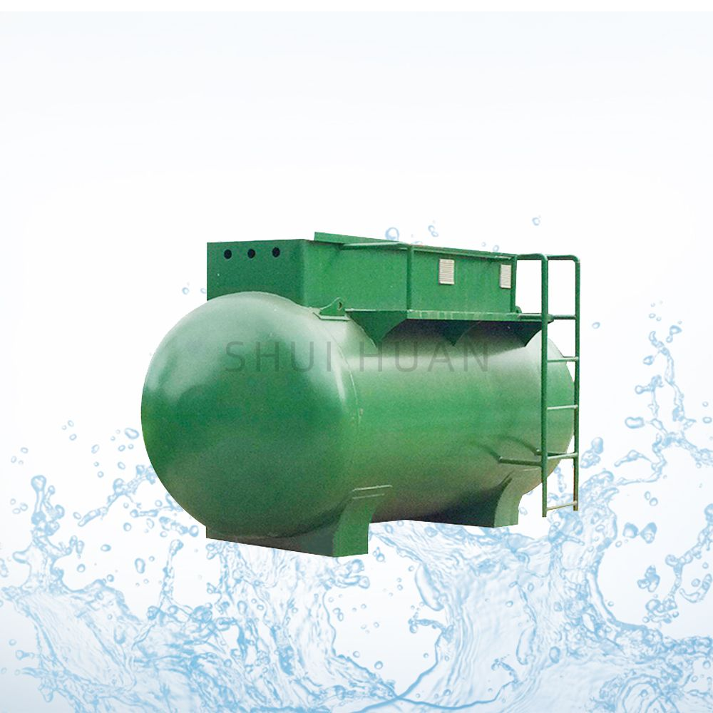 Mobile Compact Sewage Plant System Village China Wastewater Treatment Equipment