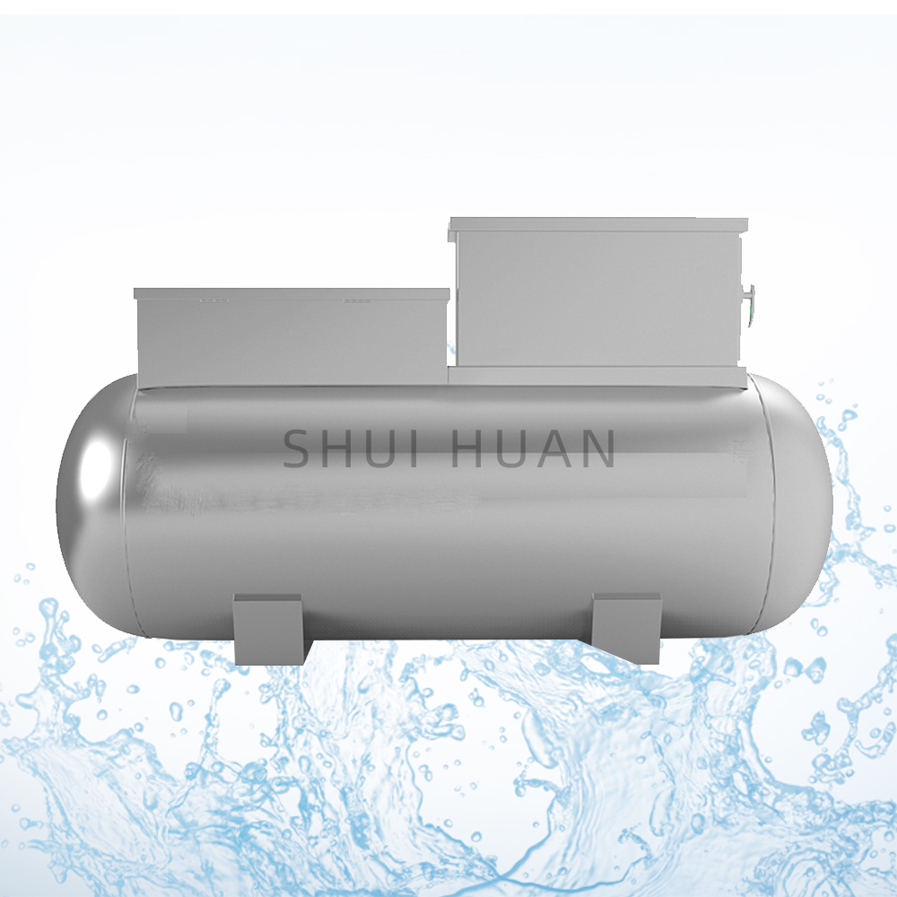 Portable Plant Municipal Waste Water Containerized Container Sewage Treatment Systems
