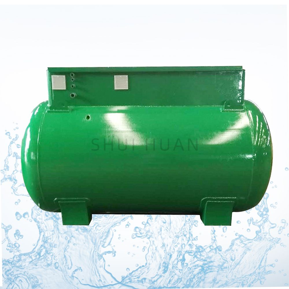 Mbr Packaged Mobile Underground Domestic Sewage Treatment Plant for Household