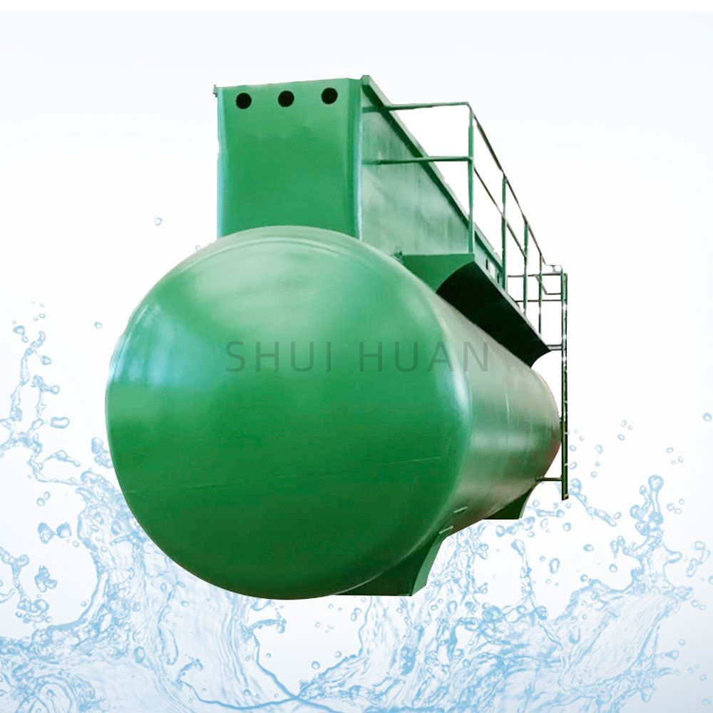 Mbr Biological Compact Domestic WWTP WTP China Wastewater Treatment Equipment System