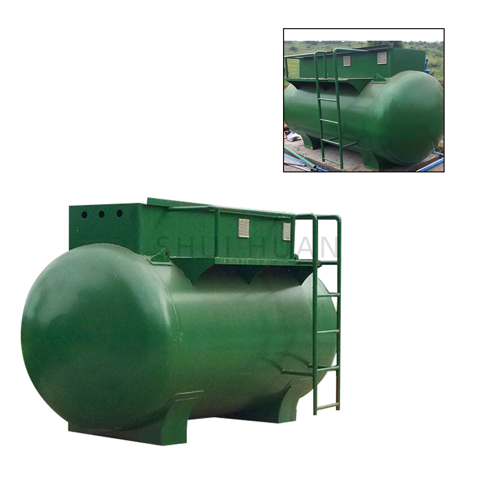 Small STP Domestic Containerized Compact Package Industrial MBR System Sewage Equipment Disc Filter Plant Wastewater Treatment