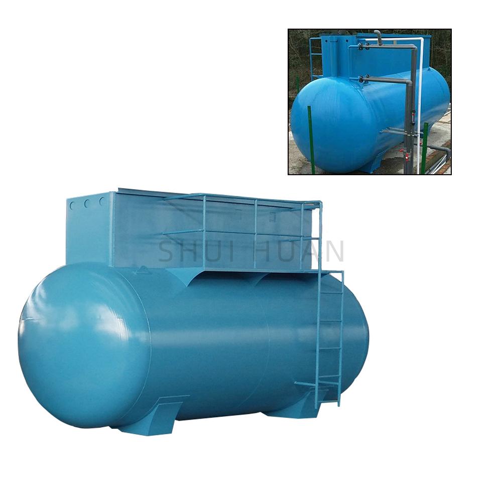 Kompakte verwerkte stelsels Huishoudelike rioolwaterbehandelingsaanleg met 'n hoë kapasiteit