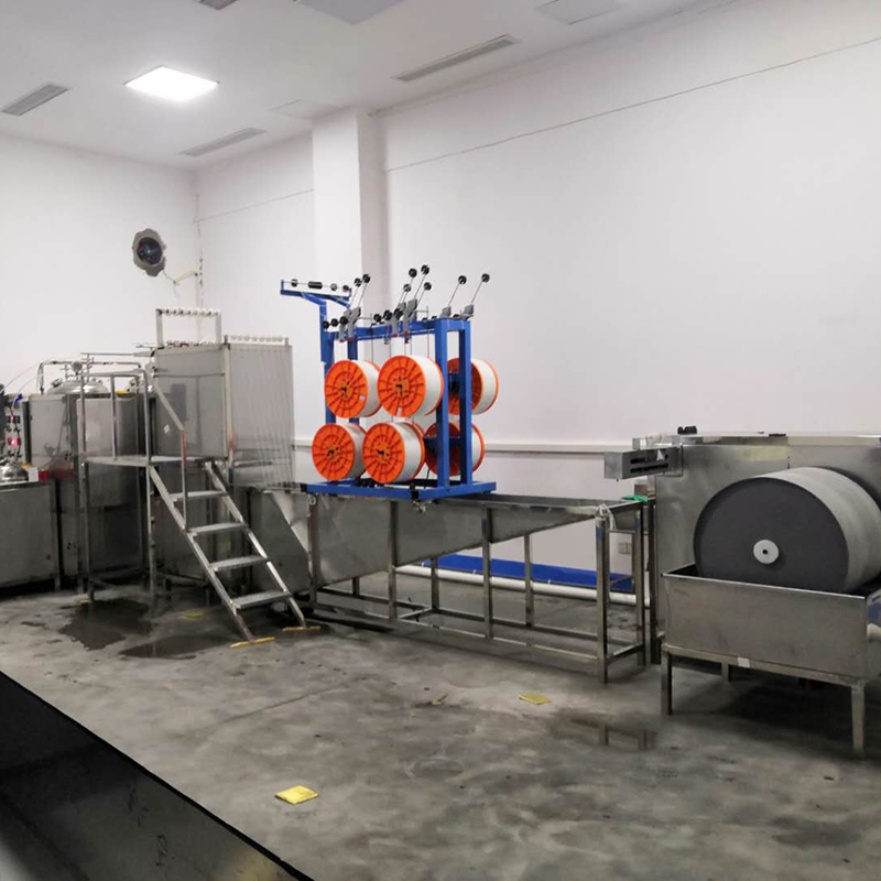 Automated high yield drinking water hollow fiber membrane production line (with formula)